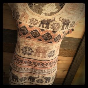 Ginger G knitted elephant top